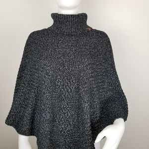 Roots Canada One Size Turtleneck Poncho
